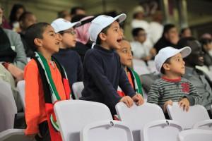 Die juengsten Fans der Gegenseite. Al Ain wurde lautstark unterstuetzt!