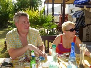 Auch Melanie und Niels kamen noch zum Brunch
