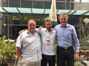 Ludger, Manni und Martin